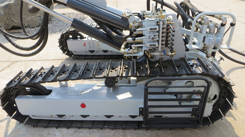 Furukawa PCR200DTH pneumatic crawler rock drill