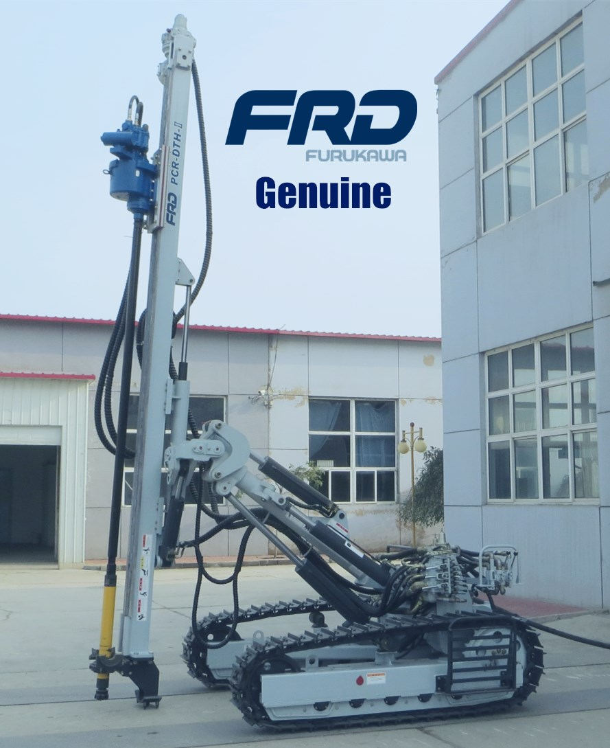 Manufacturer of Furukawa PCR200DTH pneumatic crawler rock drill
