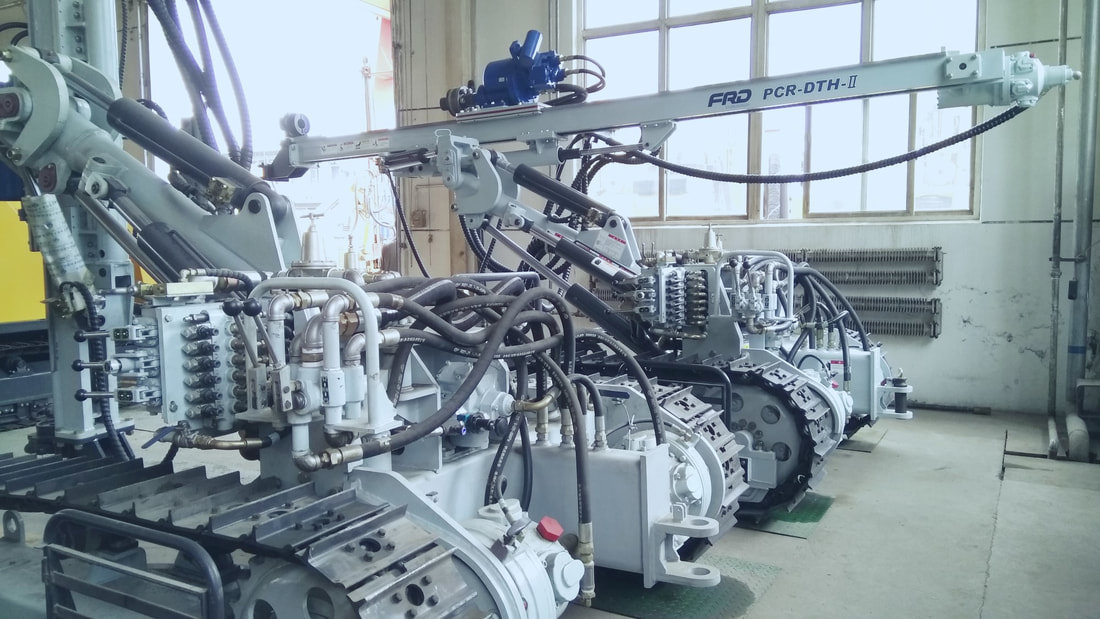 good stock of Furukawa PCR200DTH pneumatic crawler rock drill