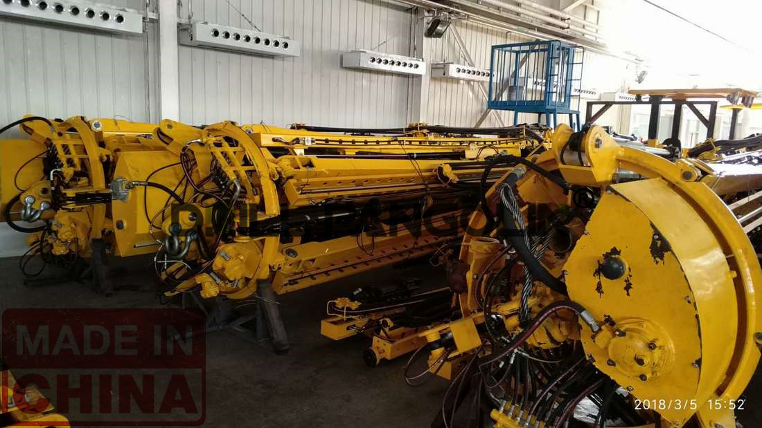 umbrella shaft drilling jumbo