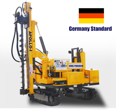 Apollo-I solar piling rig with German standard
