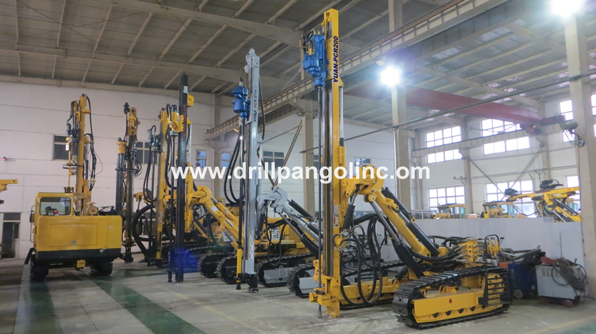 stock is available for YUAN-PCR200 top hammer Pneumatic Crawler Rock Drill