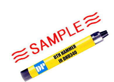 only 20 pieces DTH hammers samples in the stock with Special Promotion Price