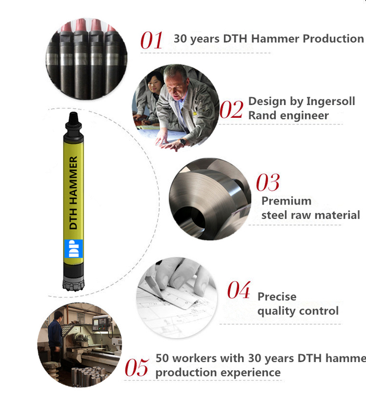 5 reasons that you have to BUY DTH hammer from us